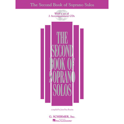 Music 2nd Book of Soprano Solos w/2CD