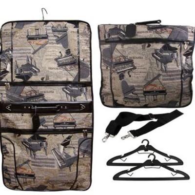 Piano Tapestry Garment Bag - Aim - 49557