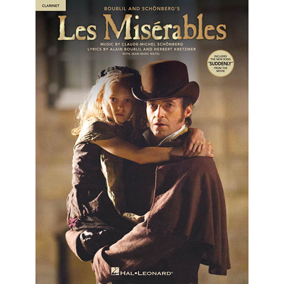Music Les Miserables - Solos from the Movie - Clarinet