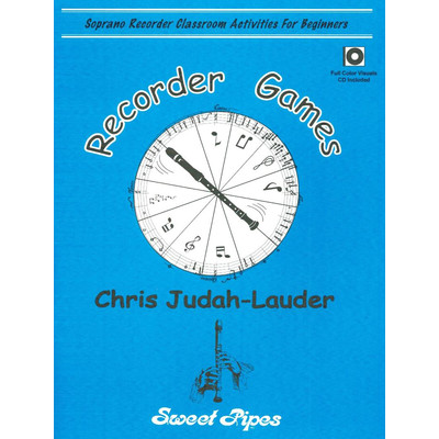Music Recorder Games w/CD-ROM (pdf & PowerPoint)
