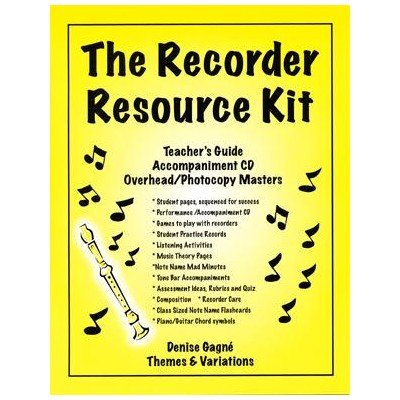 Recorder Resource Kit Book 1 - Teacher's Guide with PowerPoints