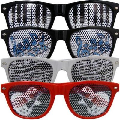 Glasses Aim Red Guitar Lens in Black - Aim - 6843