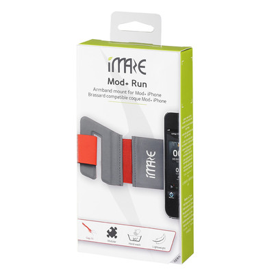 iMaze Mod+ Run Armband Mount for Smart Case -Small 250-315mm