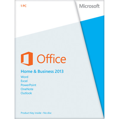 Microsoft Office 2013 Home and Business Key Card