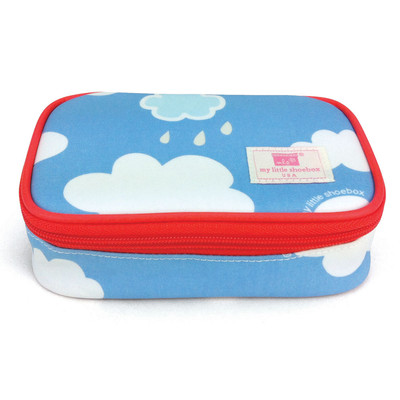Cosmetic Bag (with mirror) - Cloud