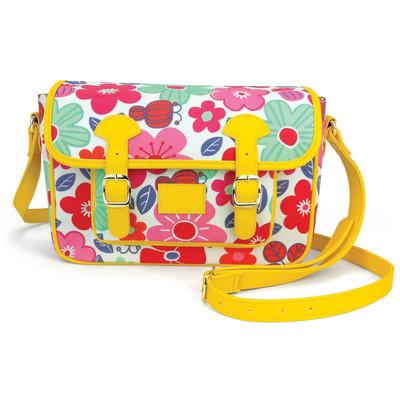 Emma Satchel Bag - Floral