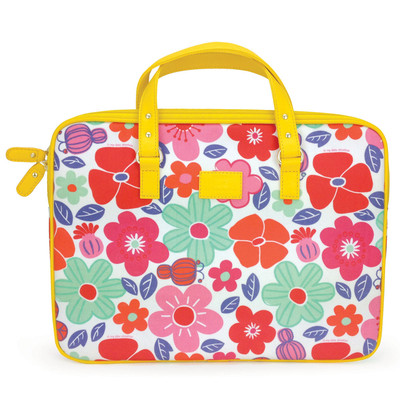 13 inch Laptop Carry Case - Floral