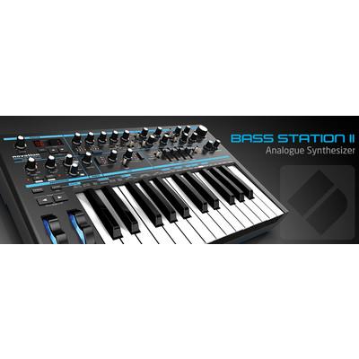 Novation Bass Station II 25-Key Synthesizer - Novation - BASS-STATION-II