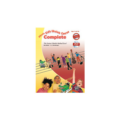 Music Alfreds Kids Ukulele Course Complete w/CD/DVD