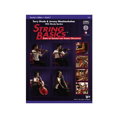 String Basics Book 2 with DVD - Teacher's Edition - Neil A. Kjos Company - 116F