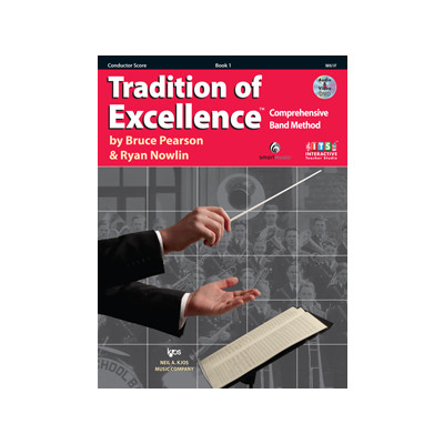 Tradition of Excellence Book 1 - Conductor Score - Neil A. Kjos Company - W61F