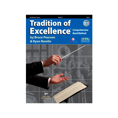 Tradition of Excellence Book 2 - Conductor Score - Neil A. Kjos Company - W62F