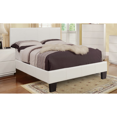 Volt-60 Queen Bed - White