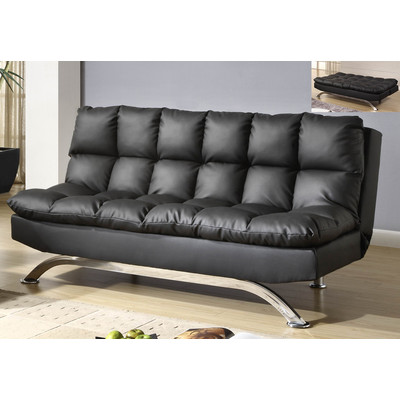 SUSSEX-KLIK KLAK SOFA-BLACK