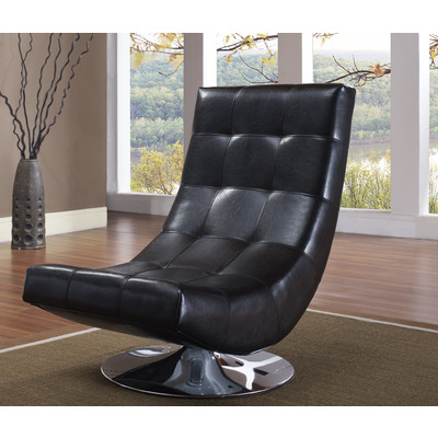 ELECTRA-ACCENT CHAIR-BLACK
