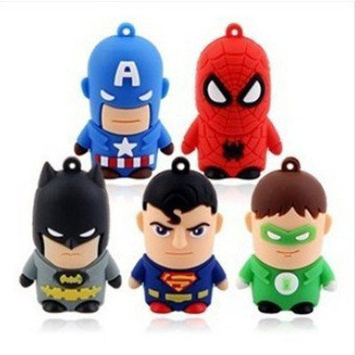 American Heros 8GB USB 2.0 Flash Drive (5 Pieces Set)