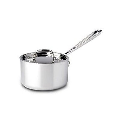 All-Clad Tri-Ply Stainless Sauce Pan - 1 qt