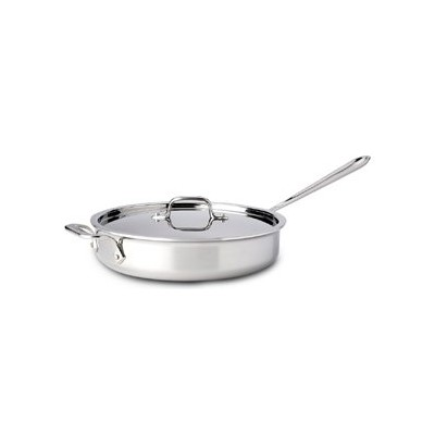 All-Clad Tri-Ply Stainless Saute Pan - 3 qt