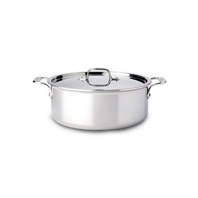 All-Clad Tri-Ply Stainless Stock Pot -  6 qt