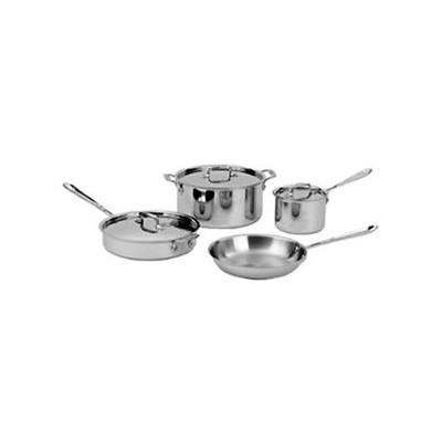 All-Clad d5 Brushed Cookware Set -  7 pcs