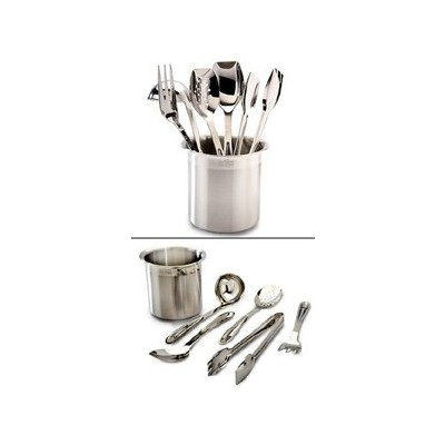 All-Clad Serving Utensil Set - with Caddy