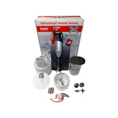 Bamix Immersion Blender Set - SwissLine - Silver