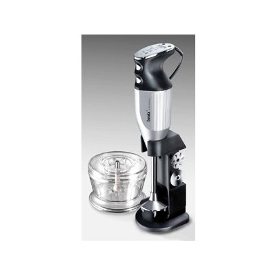 Bamix Immersion Blender Set - DeLuxe - Silver