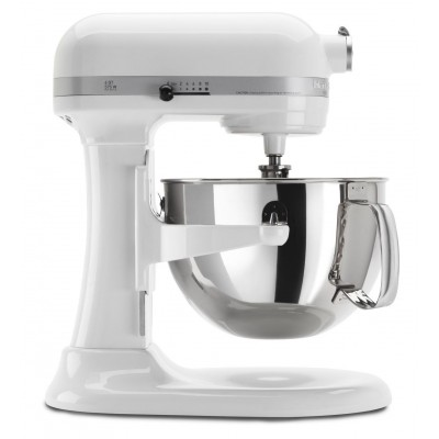 KitchenAid Pro 600 Stand Mixer - 6 qt - White