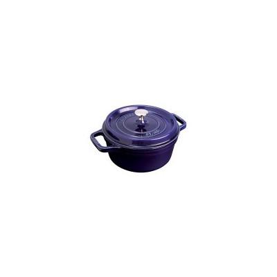 Staub Round 5.9 L French Oven - Dark Blue