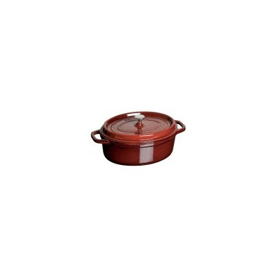 Staub Oval 4.2 L French Oven - Grenadine
