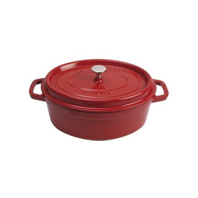 Staub French Oven - Oval - 5.4 L - Cherry