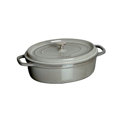 Staub French Oven - Oval - 5.4 L - Grey