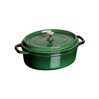 Staub French Oven - Oval - 5.4 L - Basil