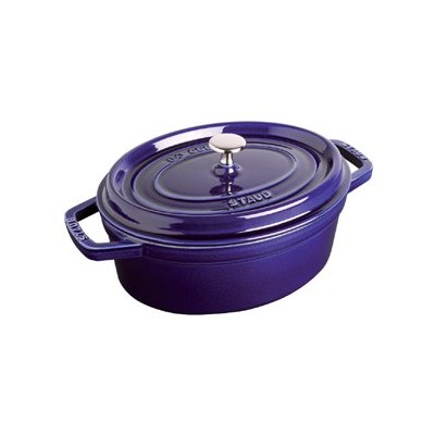 Staub French Oven - Oval - 5.4 L - Dark Blue