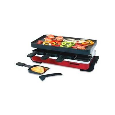 Swissmar Classic Raclette with Grill - Red
