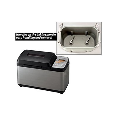 Zojirushi Virtuoso Bread Machine - 2 lb - Virtuoso - Black