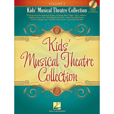 Music Kids Musical Theatre Collection Vol.2 w/CD