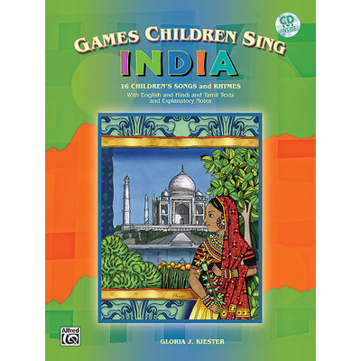 Music Games Children Sing India w/CD