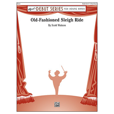 Score Old Fashioned Sleigh Ride (CB Gr.1) - Alfred Music - 00-37808