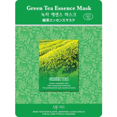 10 X MJ Care Green Tea Essence Mask Sheet Pack