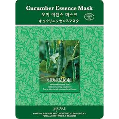 10 X MJ Care Cucumber Essence Mask Sheet Pack