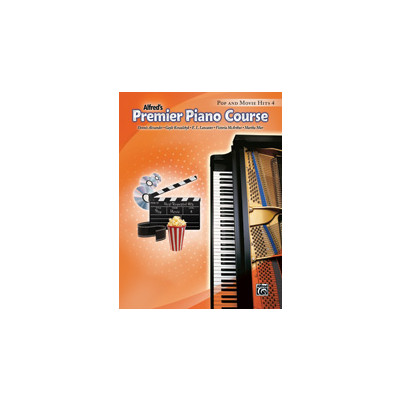 Music Alfreds Premier Piano Course 4 - Pop & Movie Hits