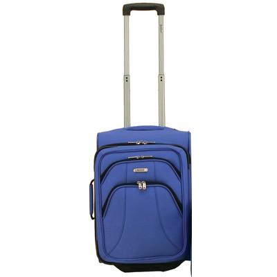 Samboro Duralite Classic Luggage 20 inches Cabin Trolley - Blue Color