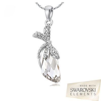 Swarovski Elements Crystal Dragonfly Pendant 18 Inches