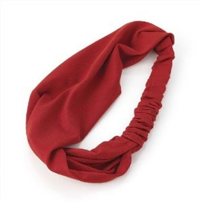 2 X Stretchable Yoga Headband - Red Color