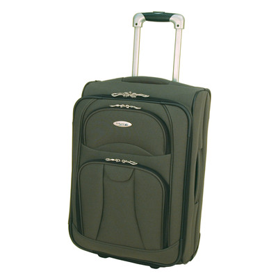 West Jet Navigator Luggage 20 inches Exp. Cabin Trolley - Sage Color