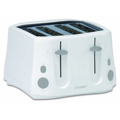 Cloer 3321NA toaster 4sl white