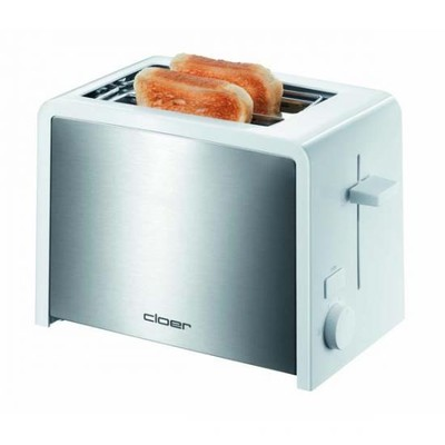 Cloer 3211NA  toaster 2sl sst/white
