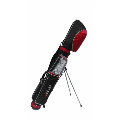 C8 Golf Range Bag Black/Red