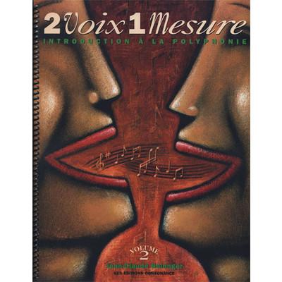 Music Deux Voix une Mesure Vol.2 (Book/CD, French)